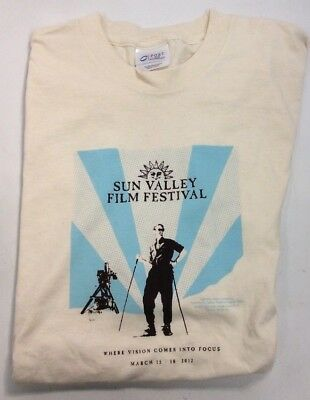 Sun Valley Film Festival 2012 Short Sleeve Small Tshirt Preownedtshirts Com
