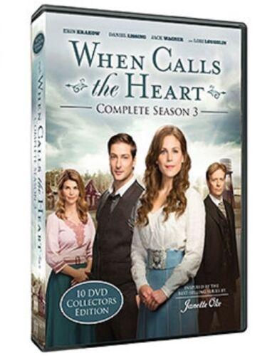 WHEN CALLS THE HEART - COMPLETE SEASON 3 w/ Bonus Movies - Hallmark Channel TV