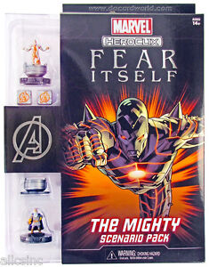 HEROCLIX FEAR ITSELF THE MIGHTY SCENARIO PACK MARVEL HEROCLIX SEALED PRODUCT