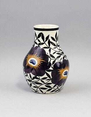 Keramik Vase Schramberg handgemaltes Floraldekor 99845292