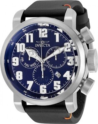 Invicta Aviator Chronograph Quartz Blue Dial Men's Watch 31682