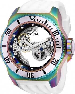 Invicta Men's 'Russian Diver' Automatic Stainless Steel and Silicone Watch 25629