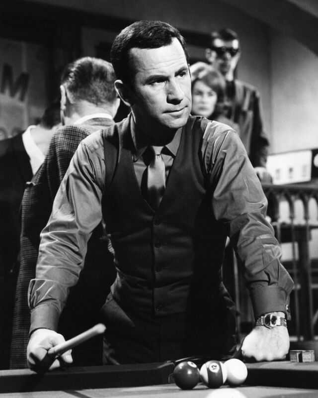 GET SMART DON ADAMS PLAYING POOL BY TABLE 8X10 PHOTO