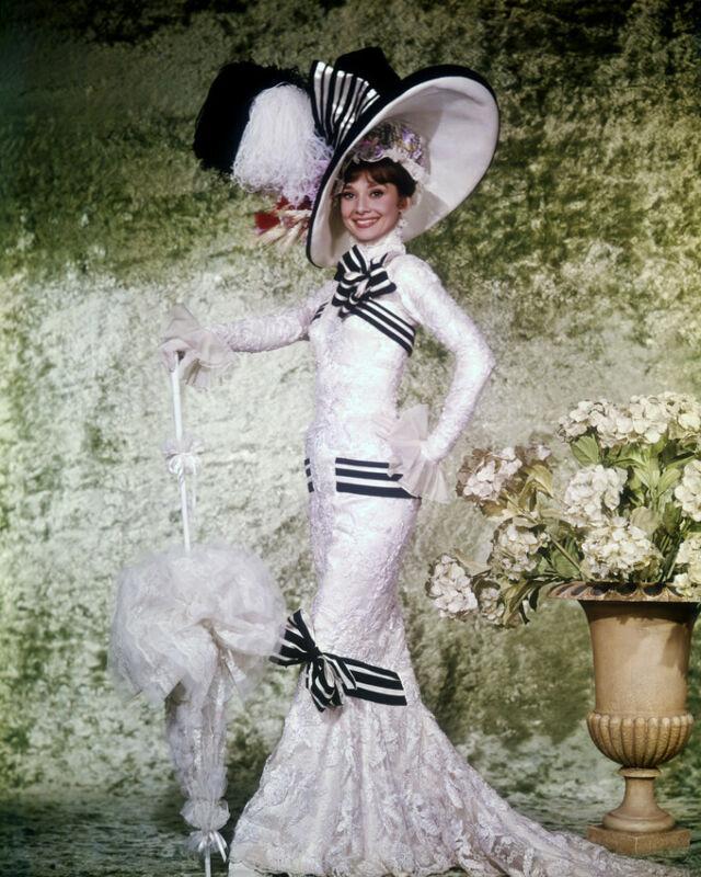 My Fair Lady Audrey Hepburn Stunning 8x10 Photo Print