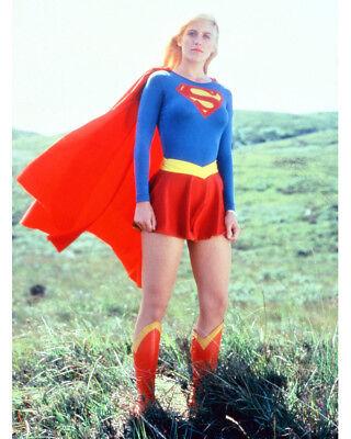 Helen Slater Full Length Supergirl Costume 16x20 Canvas - Slater Costume