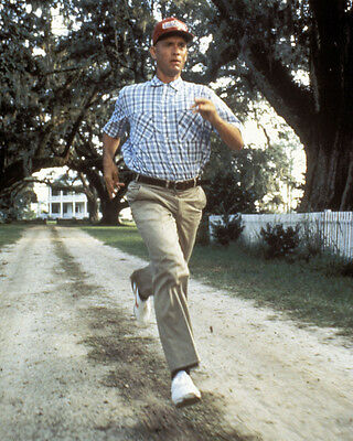 Forrest Gump Tom Hanks Running 16x20 Canvas Giclee
