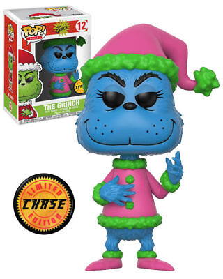 Funko Pop Books: The Grinch Dr. Seuss - The Grinch 21745 CHASE LIMITED EDITION](Dr Seusse)