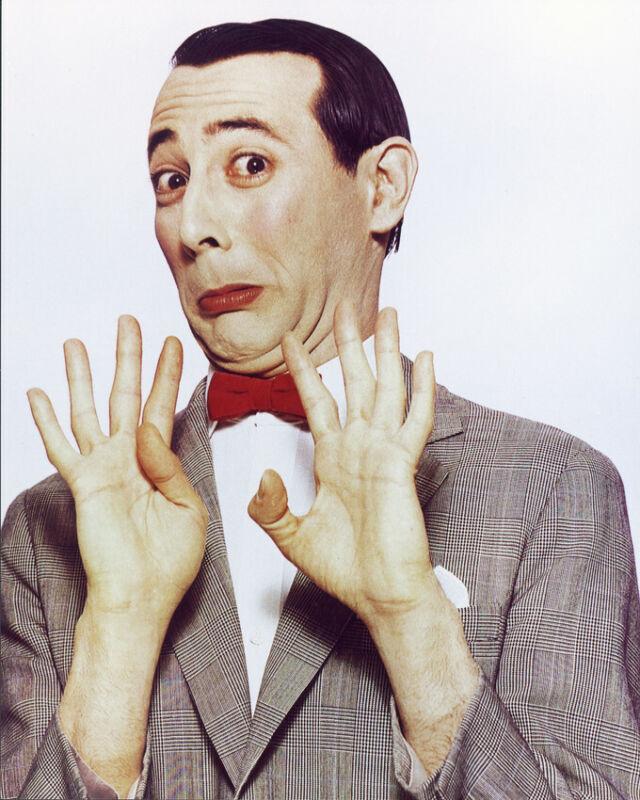Pee Wee Herman Color 8x10 Photo Print Paul Reubens