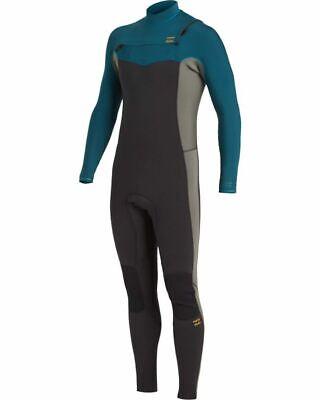 Billabong 4/3 Revolution Chest Zip Wetsuit Size Medium Tall