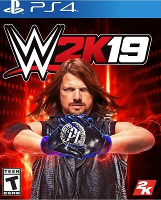 NEW! WWE 2K19 (Sony PlayStation 4, 2018 PS4) Factory Sealed! SHIPS 11/26