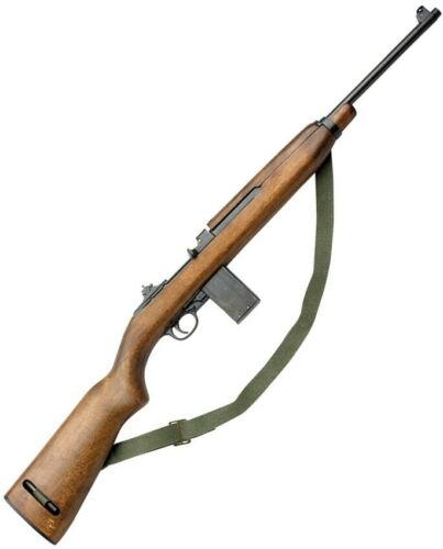 """Denix 1941 M1 Carbine Replica 35.5"""" Overall Length Removable Magazine Sling"""