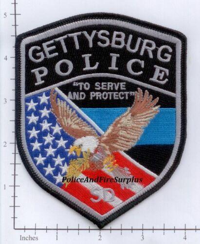 South Dakota - Gettysburg SD Police Dept Patch v2