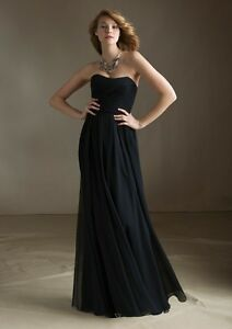 Black Morilee Bridesmaid Dress