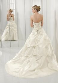 Mori Lee white wedding dress