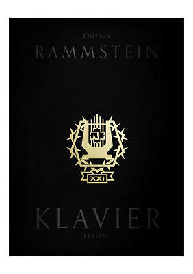 """Rammstein Klavier (+CD) - Songbook Gesang und Klavier + 1 Bleistift """"Musikmotiv"""""""