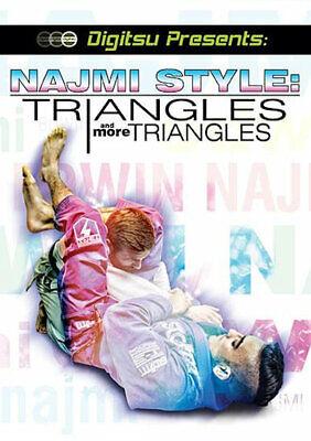Najmi Style: Triangles & More 1 DVD Training Set Jiu Jitsu BJJ No case B461