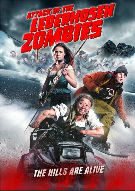Attack of the Lederhosen Zombies 2016 Blu-ray