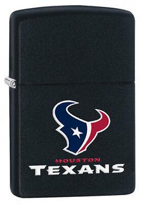 Zippo NFL Houston Texans Lighter Black Matte