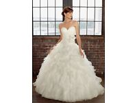 Mori lee madaline Gardner Ivory wedding dress size 6 new with labels...everything must go!