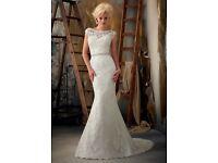 Mori lee size 8 wedding dress
