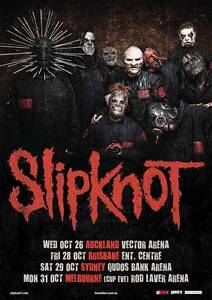 Slipknot Melbourne with Lamb of God Ballarat Central Ballarat City Preview