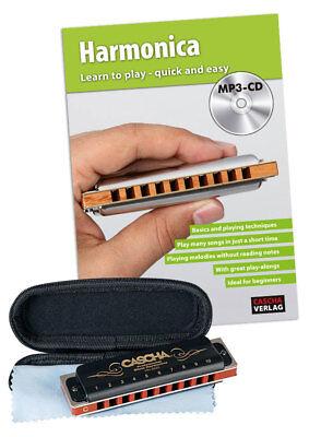 CASCHA HH 1610 DE Professional Blues Harmonica Set