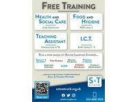 Free Vocational Training Available Online & in The Classroom!
