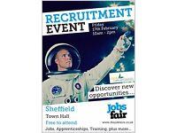 Jobs Fair in Sheffield
