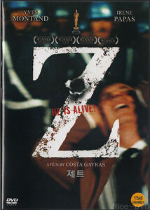 Z (1969) DVD, NEW!! Yves Montand, Costa-Gavras (with) Slip Case~