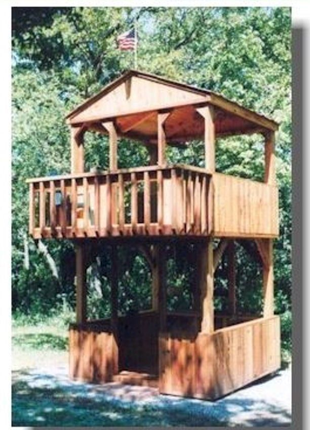 100 + Childrens Playhouse Plans CD Outdoor Accessories Fun Build Your Own DIY