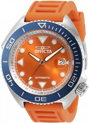 Invicta Pro Diver Automatic Orange Dial Men's Watch 30422