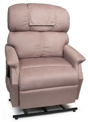 Golden Comforter Wide Electric Recliner Power Lift Chair w/ Full Chaise -