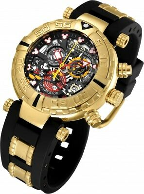 New Mens Invicta 22734 Disney Reserve Subaqua Noma I Ltd Ed Chronograph Watch