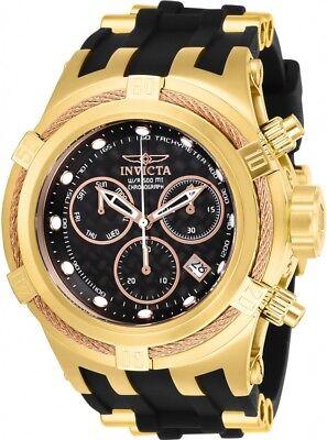New Mens Invicta 22446 Bolt Hybrid Chronograph Carbon Fiber Dial Watch