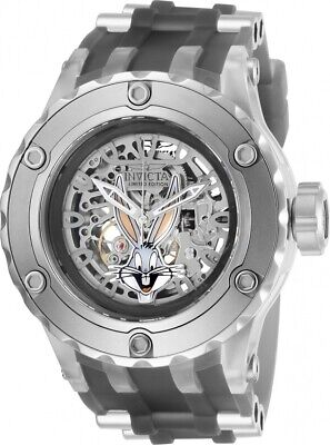 Invicta 26952 Character Collection Men's 52mm Automatic Skeleton Steel Watch