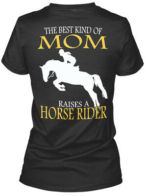 - Horse Riders Mom - The Best Kind Of Raises A Rider Gildan Women's Tee T-Shirt