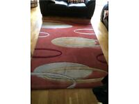 LARGE RUG AND RUNNER