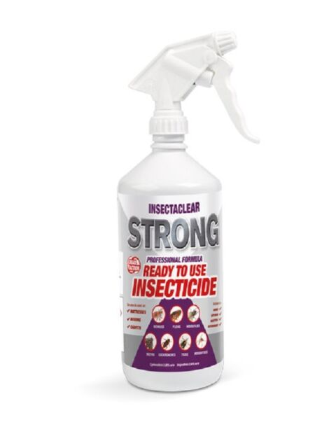STRONG PROTECTOR  1 litre INSECT BED BUG BEDBUGS SPRAY TREATMENT KILLER CONTROL