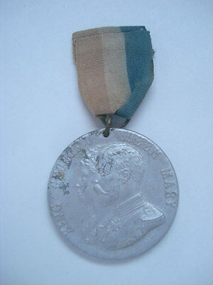 KING GEORGE V & MARY ~ 1911 CORONATION MEDAL