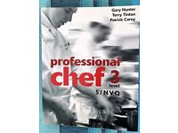 PROFESSIONAL CHEF COURSE NVQ Lev 3 Book. £20.