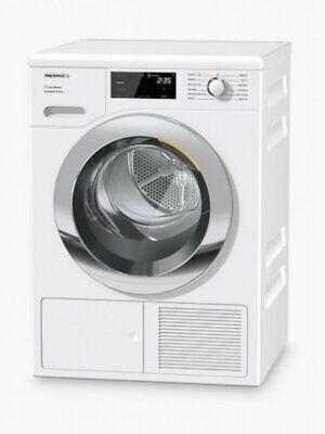 Miele TEJ665 WP Heat Pump Tumble Dryer 9kg Load A+++ White Kitchen Appliance