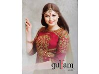 GULFAM 4 EMBROIDERED ANARKALI SUITS WHOLESALE