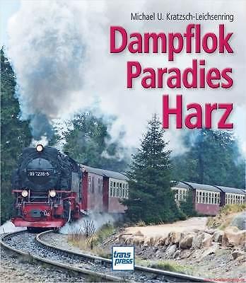 Fachbuch Dampflokparadies Harz, tolle Bilder der Schmalspurbahn, TOP Buch, OVP
