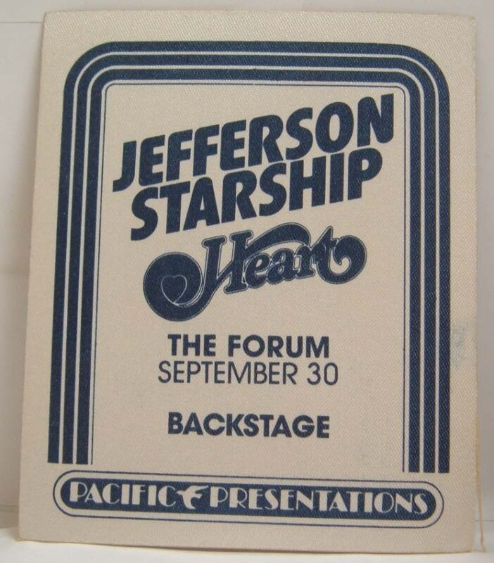 JEFFERSON STARSHIP / HEART - VINTAGE ORIGINAL 70