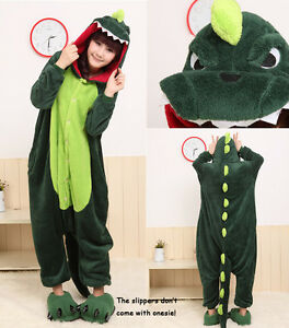 New Unisex Kigurumi Pajamas Cosplay Costumes Animal Onesies Pyjamas S/M/L/XL