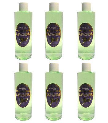 6 pcs PARISIENNE LAVANDA perfume para hombres edc eau de colonia 1000 ml agua