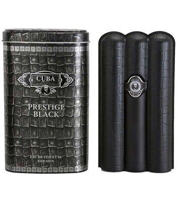 CUBA PRESTIGE BLACK PARA HOMBRES perfume edt eau de toilette 90 ml...
