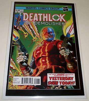 DEATHLOK # 1  Marvel Comic  Dec 2014   NM  1:15 HASBRO VARIANT COVER EDITION