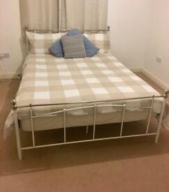 King Size Bed Frame & Mattress
