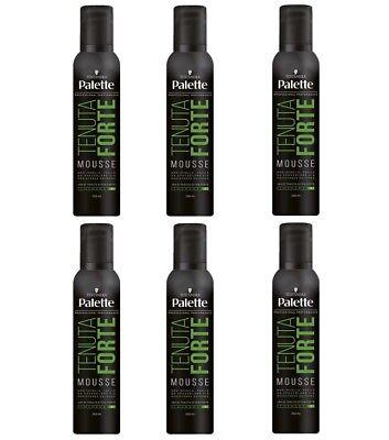 6 Stück Black-headed Farbpalette Nachlass starke Mousse für Haar 250 ml Produkte